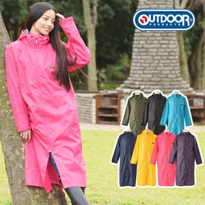 OUTDOOR PRODUCTS レインコート(女性/レディ...