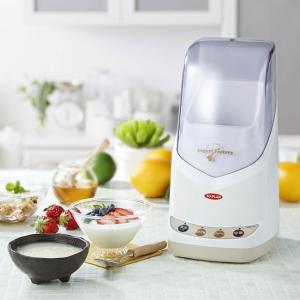 甘酒・ヨーグルトファクトリー スーパープレミアム TKSM-020(カスピ海ヨーグルトや甘酒・プレーンヨーグルトが作れるヨーグルトメーカー 牛乳パックが入る)|kireispot