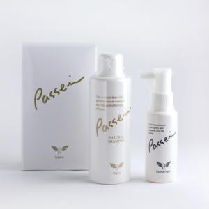 Passei パッセイセット(頭皮用塗布液+ナチュラルシャンプー)