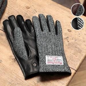 Harris Tweed ハリスツイード メンズグローブ シープスキン 6272(男性用/手袋/紳士用)【無料ラッピング対応可】
