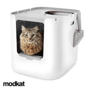 モデキャット XL リターボックス XL103(猫 トイレ 大型 おしゃれ 猫トイレ本体 家具 におい対策 大きいサイズ 猫トイレ) kireispot