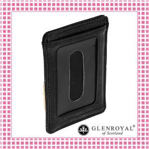 グレンロイヤル カードケース さらさら手触り フルブライドルレザー03-2997-ブラック/NEW BLACK kireiyasan