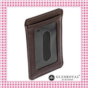 グレンロイヤル カードケース さらさら手触り フルブライドルレザー03-2997-ブラウン/CIGAR kireiyasan