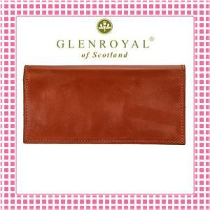 グレンロイヤル 二つ折り長財布 さらさら手触り フルブライドルレザー03-5605-キャメル/OXFORD TAN kireiyasan