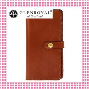 グレンロイヤル フラップ付二つ折り長財布 さらさら手触り フルブライドルレザー03-6178-キャメル/OXFORD TAN kireiyasan