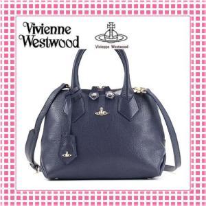 ヴィヴィアン 2WAYハンドバッグ 型押し しっとり手触り BALMORAL-131113-ブルー/BLUE|kireiyasan