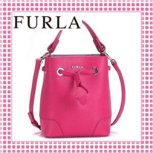 フルラ FURLA 滑らかカーフ 巾着タイプ 2WAYバケットショルダーバッグ-STACY MINI DRAWSTRING-BFG8-ピンク/PINKY|kireiyasan