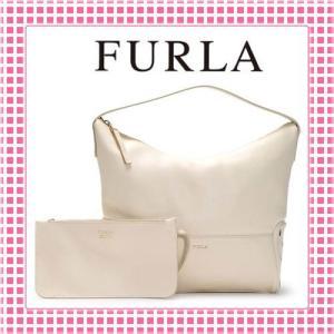 フルラ FURLA ポーチ付 ワンショルダーバッグ アストラ ASTRA-BGK9-809317-ライトベージュ/内側オレンジ|kireiyasan