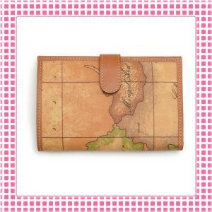 プリマクラッセ PRIMACLASSE 二つ折り長財布 カラバリ3色 地図柄GEOCLASSIC-CW012-キャメルブラウン|kireiyasan