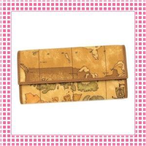プリマクラッセ PRIMACLASSE 二つ折り長財布 カラバリ3色 地図柄GEOCLASSIC-CW018-キャメルブラウン|kireiyasan