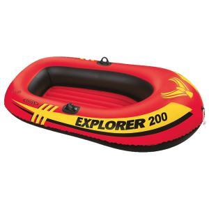 INTEX(インテックス) ツーマンボートセット エクスプローラ200 185×94×41cm 58331 オール・ポンプ付属|kireshop