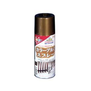 まとめ買い アサヒペン カラーアルミスプレー 300ML ブロンズメタリック 〔3缶セット〕 kireshop