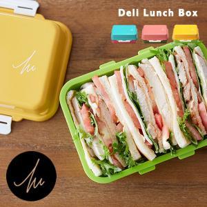 商品詳細 商品名:deli lunchbox(デリランチボックス) 素材:本体・留め具・仕切り:ポリ...