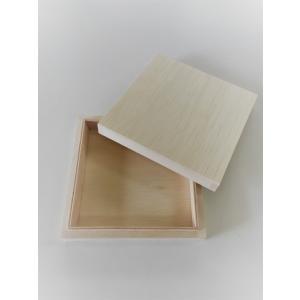ギフト用 木箱 (100×100×H25) kirikougei01