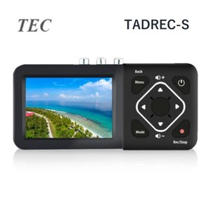 ダビング ビデオカメラ VHS TADREC-S SD ダビングデッキ ビデオキャプチャー HDDへ保存可能 3.5液晶搭載 ダイレクト録画 miniDV ミニDV 8mm|キリン商店 PayPayモール店