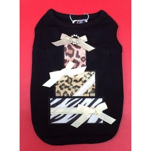 犬服 LUNA BLUE   Party Animal Gift Box Tank Black タンクトップ|kirinclub