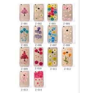 スマホケース iPhone6 plus ケース 押し花 永生花 庭花 iPhone6s plus シリコンケース クリアケース ソフトカバー|kirincompany