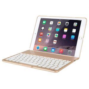 iPad Air2/iPad Pro 9.7用キーボードケース Bluetooth3.0搭載キーボードカバー スマートキーボードケースカバー|kirincompany