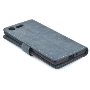 PLATA Xperia XZ Premium SO-04J ケース 手帳型 スライド カード ポケ...