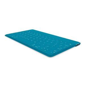 ロジクール ウルトラポータブル キーボード for iPad, iPhone ティール iK1041...