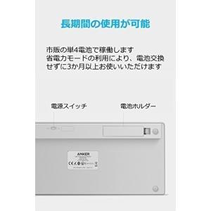 Anker ウルトラスリム Bluetooth ワイヤレスキーボード iOS/Android/Mac...
