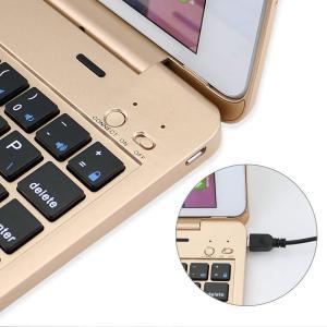 efluky iPad mini4 bluetooth キーボード ワイヤレス キーボードケース 薄型Bluetooth接続キーボード 自動|kirincompany