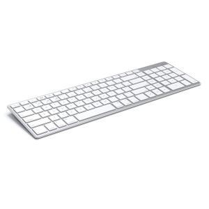 Satechi サテチ Bluetooth ワイヤレススマートキーボード (白/Mac US配列) ...