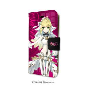 Fate EXTRA CCC 01 セイバー 手帳型スマホケース iPhone6/6s/7/8兼用