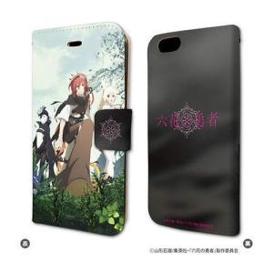六花の勇者 02 キービジュアル2 手帳型スマホケース iPhone6/6s/7/8兼用