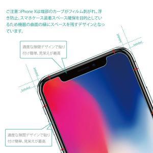 3枚セットNimaso iPhoneX/iPhoneXs 用 強化ガラス液晶保護フィルム 日本製素材...