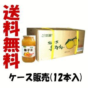 【ケース販売】在庫のみ 送料無料 大同商事 ゆず茶 (1kg×12本セット)×1ケース本場 韓国産 柚子茶 果実入り 大韓民国 柚子茶 韓国 送料無料 福袋|kirindo