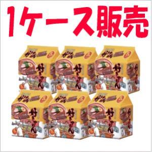 (1ケース販売)ハウス食品 浪花の中華そば 好きやねん(しょうゆ味)5食パック×6個入|kirindo