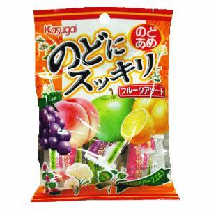 春日井製菓 のどにすっきり フルーツアソート 83g|kirindo