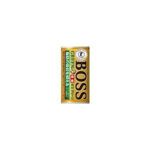【ケース販売】サントリー ボス グリーン 185g×30缶 特定保健用食品(特保)|kirindo