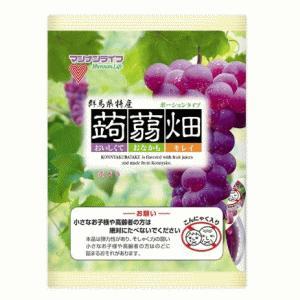 [1ケース販売]マンナンライフ 蒟蒻畑 ぶどう味×12袋|kirindo