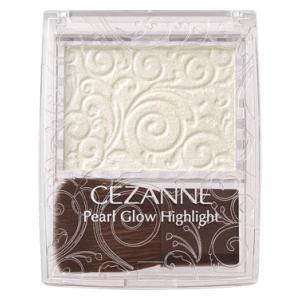 セザンヌ化粧品 パールグロウハイライト 03:オーロラミント 2.4g