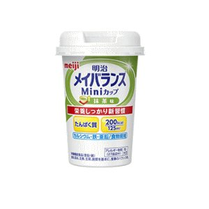 明治メイバランスMiniカップ 抹茶味 125ml