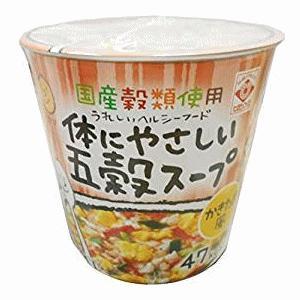 [24個セット]ヒガシマル かきたま風カップ体にやさしい五穀スープ 13.5g×24|kirindo
