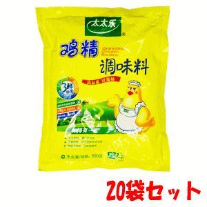 【ケース販売】【20個セット】友盛貿易 太太楽 鮮味鶏精調味料・丸鶏ガラスープ(チキンブイヨン) 500g×20|kirindo