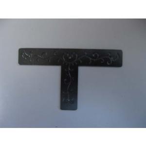 金具DIY隅金具 Tの字 21mm 時代色 商品番号k-6166121
