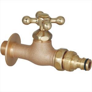 ユニソン プレーンフォーセット ホース用蛇口A 『水栓柱・立水栓 蛇口』 ブロンズ kiro