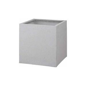 タカショー キューブポット カント(640) PIA-C01LW #36813600 ホワイト|kiro