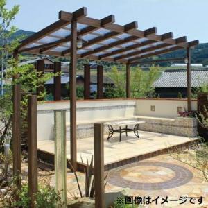 タカショー ポーチガーデン Jポーチ(独立タイプ) 1間×6尺 クリア|kiro