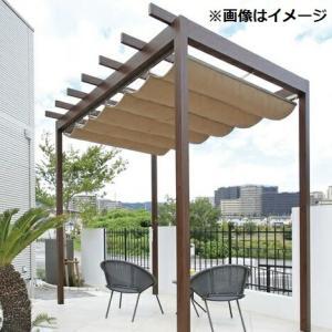 タカショー パーゴラ・ポーチ 独立タイプ 2間×4尺 *シェードは別売 ウッド|kiro