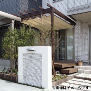 タカショー パーゴラ・ポーチ 壁付タイプ 1間×4尺 *シェードは別売 ウッド|kiro