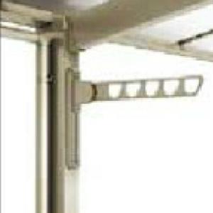 リクシル オプション フーゴF用 物干しセット ロング2本入 『テラス屋根 オプション』   『物干し 屋外』|kiro
