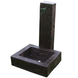旭興進  軽量FRP製 水栓柱ユニットセット(枕木風)    aks-78820 kiro