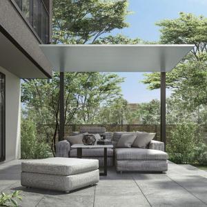 リクシル テラスSC 2.0間×7尺 標準柱 『独立テラス アルミ屋根』|kiro