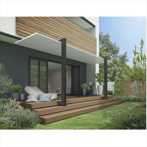 リクシル テラスSC 2.0間×7尺 長尺柱 『独立テラス アルミ屋根』|kiro