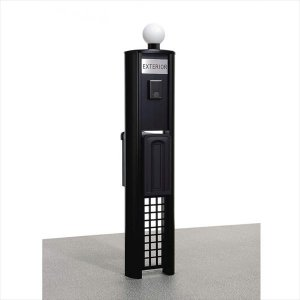 三協アルミ 機能門柱 KE型 プラン4 KE *表札はネームシールとなります 『機能門柱 機能ポール』|kiro